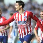 Álvaro Morata celebra un gol con el Atlético de Madrid / Atlético de Madrid