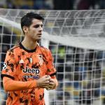 Morata se gana los elogios tras su vuelta a la Juventus