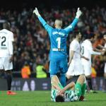 Jaume celebrando el pase a la final de Copa. / europapress.es