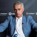 Mourinho en la rueda de prensa de Live Score. / telemadrid.es