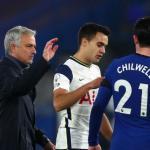 José Mourinho señala a un nuevo jugador: ¿Reguilón da el nivel?. Foto: Cadena Ser