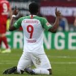 El movimiento ganador del Alavés para su delantera. Foto: Bundesliga