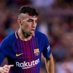 Munir en un partido / Foto: Barça