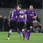 Muriel, con la Fiorentina (EFE)