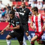Muriel, ante el Girona (Sevilla FC)