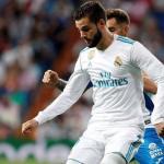 Nacho en un partido / Real Madrid