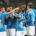 El Nápoles celebrando un gol esta temporada / twitter