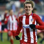 Antoine Griezmann celebra un gol / Atlético
