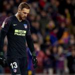 La firme decisión de Oblak en el Atlético de Madrid / Twitter