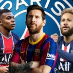 """Así quedaría el XI del PSG en 2021 con el fichaje de Messi""""Foto: Mediotiempo.es"""""""