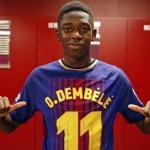 Ousmane Dembélé. Foto: FC Barcelona.