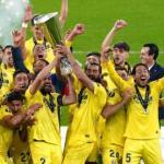 El Villarreal se proclamaba campeón de la UEFA Europa League tras vencer al Manchester United en penaltis. Foto: Getty