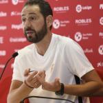 Pablo Machín. Foto: Sevillafc.es