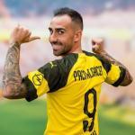 Paco Alcácer con la camiseta del Borussia Dortmund. Foto: Youtube.com