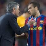 """El palo de Dani Alves al Real Madrid de Mourinho """"Foto: Mundo Deportivo"""""""