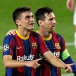 Pedri pide paso en el ataque del Barça