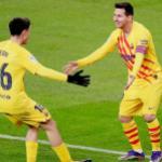 Messi, Pedri y la pelota como vía para comunicarse