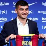 Pedri se gana un dorsal en el Barcelona / ESPN.com