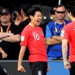 Kangin Lee en un partido en el Mundial sub-20. / apuntmedia.es