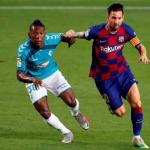 """El FC Barcelona ya conoce el precio de Pervis Estupiñán """"Foto: El Universo"""""""