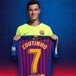 Philippe Coutinho con la camiseta del Barça. Foto: FCBarcelona.es