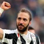 Gonzalo Higuaín celebra un gol con la Juventus / twitter.