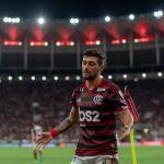De Arrascaeta en un partido con el Flamengo. / subrayado.com.uy