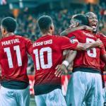 Pogba y Rashford, con el United / twitter