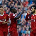 Liverpool, celebrando un gol / Twitter