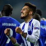 Telles, celebrando un gol con el Oporto (AFP)