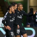 Jugadores del PSG, celebrando un gol / twitter