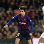 Riqui Puig, en un partido del FC Barcelona / twitter.