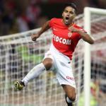 Radamel Falcao celegrando un gol con el Mónaco. Foto: Youtube.com
