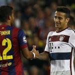 Thiago y Rafinha no temrinaron de cuajar en el Barça.