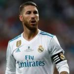 Ramos, durante un partido (Real Madrid)
