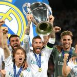 La plantilla del Real Madrid levanta la Champions / Real Madrid