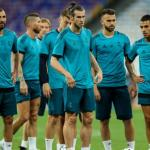 Jugadores del Madrid en un entrenamiento. / 90min.com