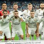 El once que salió el año pasado ante el Getafe (Real Madrid)