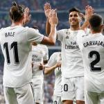 Jugadores del Real Madrid, celebrando un gol / RMCF.