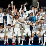 Jugadores del Real Madrid celebran un título / Real Madrid
