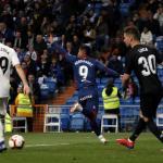 'Cucho' Hernández celebra un gol ante el Real Madrid / LaLiga