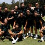 Canteranos del Madrid en pretemporada / Real Madrid
