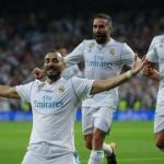 Benzema celebra un gol / Real Madrid