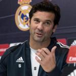 Santiago Solari, durante una rueda de prensa / Real Madrid.