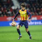 Riqui Puig con la selección catalana / Barça