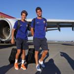 """Riqui Puig y Sergi Roberto, los siguientes en renovar con el Barcelona """"Foto: Twitter"""""""