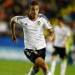 Rodrigo Moreno en un partido con el Valencia / Valencia