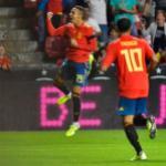 Rodrigo Moreno habló sobre el Valencia CFy su casi salida. FOTO: VALENCIA CF