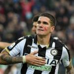 Rodrigo De Paul celebra un gol con el Udinese. Foto: Eldesmarque.com