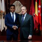 Rodrygo cobrará cuatro millones de euros en el Real Madrid / RMCF.